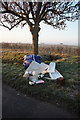 SE6034 : Flytipping on Sand Lane by Ian S