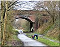 SJ9594 : New Year on the Trans Pennine Trail by Gerald England