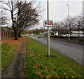SO9568 : This way to Bromsgrove railway station by Jaggery