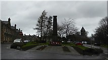 NO2501 : War Memorial, Leslie by Alpin Stewart