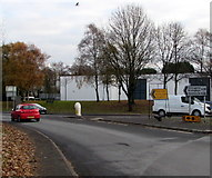 SO9568 : A38 direction sign, Stoke Road, Bromsgrove by Jaggery