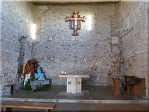 TM0308 : Inside St. Peter-on-the-Wall, Bradwell (i) by Basher Eyre