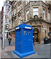 NS5965 : Buchanan Street police box by Thomas Nugent