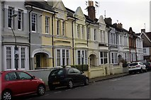 TQ2804 : Housing terrace, Stirling Place, Hove by Julian Osley