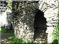SS6949 : Jenny's Cove grotto 1 - Lee Abbey, North Devon by Martin Richard Phelan