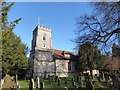 TQ2255 : St Peter, Walton-on-the-Hill: early January 2017 by Basher Eyre