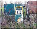 TM4391 : Fuel pump near Beccles Farm by Roger Jones