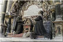 SK9227 : Cholmeley tomb detail, Ss Andrew & Mary church, Stoke Rochford by Julian P Guffogg