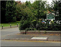 SJ6652 : Nantwich Elim Pentecostal Church nameboard, Nantwich by Jaggery