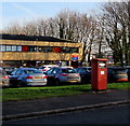 ST3086 : Franked mail postbox, Greenwich Road, Newport by Jaggery