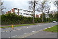 SP3576 : Abbey Court flats, seen from London Road, Whitley, southeast Coventry by Robin Stott