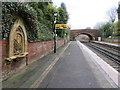 SJ3985 : Eastbound platform on Cressington station by John S Turner
