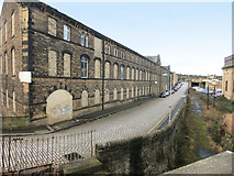 SE0641 : Low Mill Lane, Keighley by Des Blenkinsopp