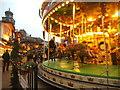 SP0686 : Carousel Scene by Gordon Griffiths
