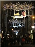 TQ3081 : Seven Dials Christmas lights by Oast House Archive