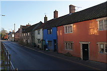 ST5038 : Cottages on Chilkwell Street by Bill Boaden