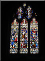 SX8186 : St Thomas, Bridford: east window by Stephen Craven