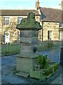 NU1301 : Lion fountain, Longframlington by Alan Murray-Rust