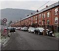 ST2293 : Start of the 20 zone, Nantcarn Road, Cwmcarn by Jaggery