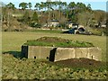 NZ0999 : Pillbox at Pauperhaugh – 2 by Alan Murray-Rust