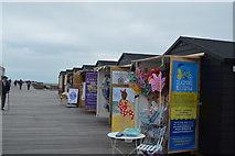 TQ8109 : On Hastings Pier by N Chadwick