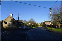 SK8836 : Barrowby, at the junction of Main Street, High Road, Church Street, and rectory Lane by Tim Heaton