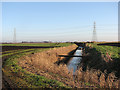 TL5780 : Path and drain on Middle Fen by John Sutton