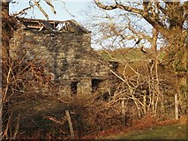 SH6028 : Old Mill Buildings Near Dinas by Chris Andrews