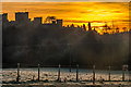 SO5074 : Ludlow Castle at sunrise by Ian Capper