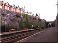 SX9473 : East end of Teignmouth station by Stephen Craven