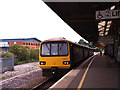 SX8671 : Newton Abbot station, platform 1 by Stephen Craven