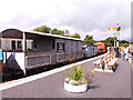 SX8061 : Brake van on the South Devon Railway by Stephen Craven