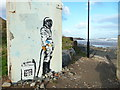 NZ7120 : Mural by Karl Striker, Skinningrove by Humphrey Bolton