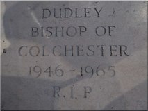 TL7006 : Chelmsford Cathedral: memorial (2) by Basher Eyre