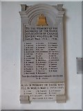 TL7006 : Chelmsford Cathedral: memorial (20) by Basher Eyre