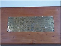 TL7006 : Chelmsford Cathedral: memorial (10) by Basher Eyre