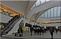 SP0686 : Entrance Lobby, Birmingham New Street by Roger Cornfoot