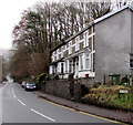 ST2195 : Late Victorian Rock Villas, High Street, Abercarn by Jaggery