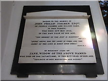 TQ2255 : St Peter, Walton-on-the Hill: memorial (k) by Basher Eyre