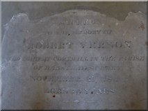 TQ2255 : St Peter, Walton-on-the Hill: memorial (q) by Basher Eyre
