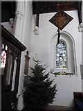 TQ2255 : Inside St Peter, Walton-on-the Hill (D) by Basher Eyre