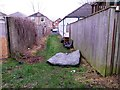 SZ1392 : West Southbourne: fly-tipped mattress on footpath H08 by Chris Downer