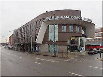 SP0786 : Birmingham Coach Station by Roger Cornfoot