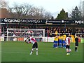 TQ0057 : Woking F.C. - Kingfield by Colin Smith