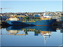 SW4730 : The 'Gry Maritha' in Penzance Harbour by Rod Allday