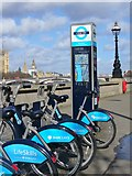 TQ3078 : London - Cycle Hire by Colin Smith