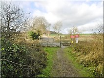 SU2763 : Crofton, level crossing by Mike Faherty