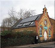 TQ3385 : Wordsworth Road Baptist Chapel, Stoke Newington by Julian Osley