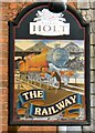 SD8700 : The sign of The Railway by Gerald England