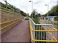 SD8700 : Access ramp at Newton Heath and Moston by Gerald England